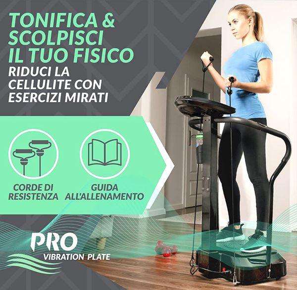 Pedana Vibrante Bluefin Fitness Pro